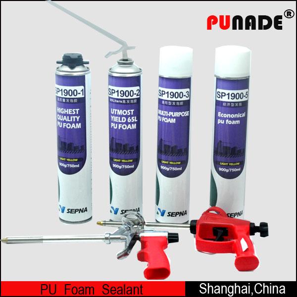 Expanding Polyurethane Foam Insulation Espuma Construction Sealant Pu Foam