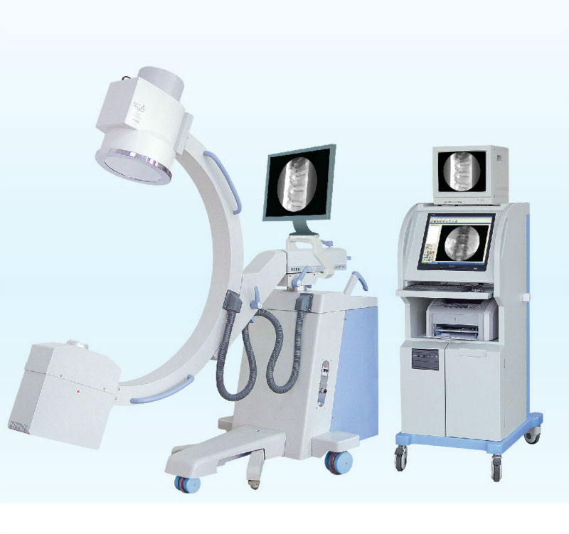 (5.0KW. fixed anode) X-ray Series High Frequency Mobile c-arm image intensifier