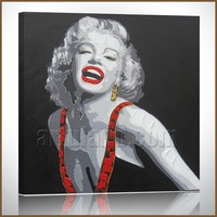 Marilyn Monroe abstract open hot sexi girl /woman oil painting