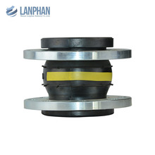 floating stainless steel flange viton rubber expansion joint
