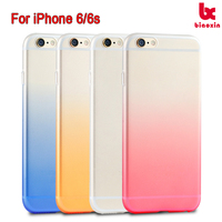 For iPhone 6/6s matte + single color case back case full PC blank mobile cover NEW product 2016 back cover China supplier