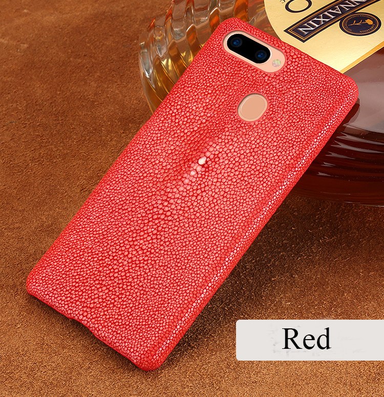 Handmade Real Stingray Leather Cell Phone Case