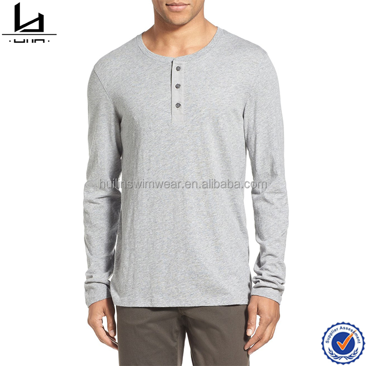 china factory dongguan manufacture custom 100% cotton polo neck blank no label t shirt with three button placket