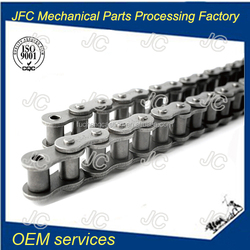 British standard carbon steel industrial machine parts transmission duplex roller chain 10B2