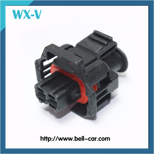 2 Pin Way Female Fuel Injector Connector Sensor EV1 Auto Connector With Terminals