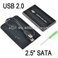 USB 2.0 IDE 2.5 HDD Hard Disk Drive w/ Enclosure Case
