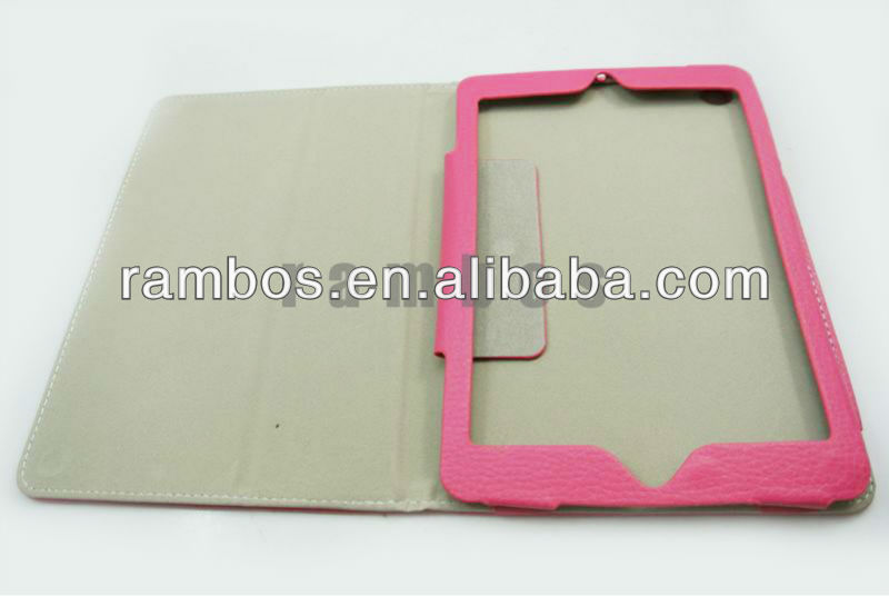 Tablet Lychee Flip Leather case for iPad mini 7.9