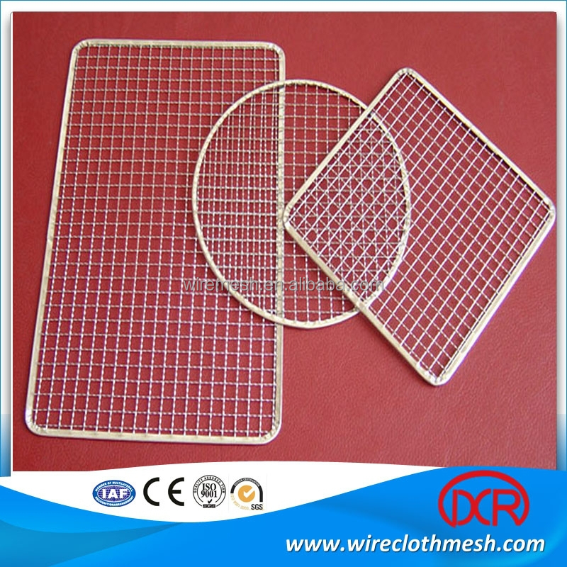 China Hot sale barbecue wire mesh /bbq grill/ cooking grid manufacture