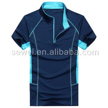 Polo sport t-shirt design in your own style, men's Short sleeve Polo Shirts