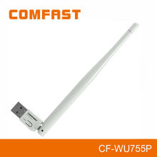 150Mbps WPS usb Wifi Adapter, RTL8188EUS Chipset 5dbi Detachable Antenna High power wifi adapter for laptop