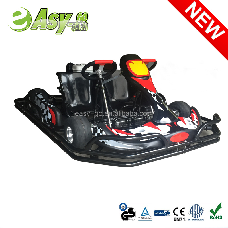 2016 Easy-go hot 200cc/270cc 4 wheels 2 seats go kart cross with steel safety bumper pass CE certificate
