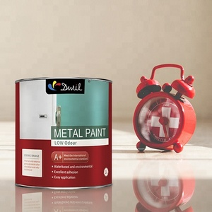 Waterbased Metal Paint Rust Resistance And Water Resistance For Metallic Project
