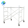 New brand h frame scaffolding specifications shoring ladder frame for construction
