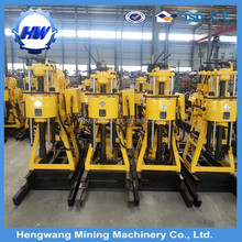 Trailer type drilling rig with SPT drill tools, soil sampling drilling rig from HW factory