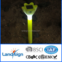 XLTD-1519 china manufacturer Cixi cheap plastic colourful mini solar powered led light white led flat solar lights
