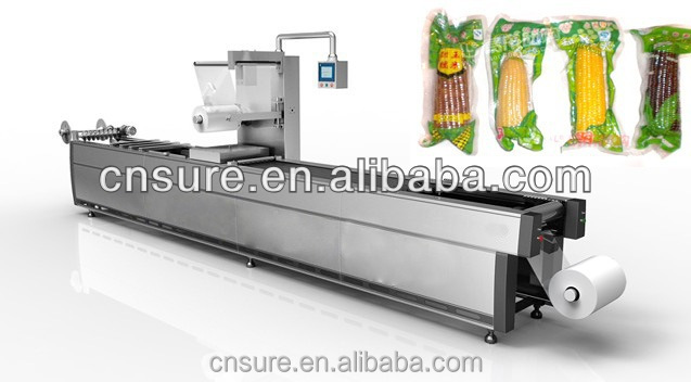 Automatic Continuous Stretch-packaging Machine