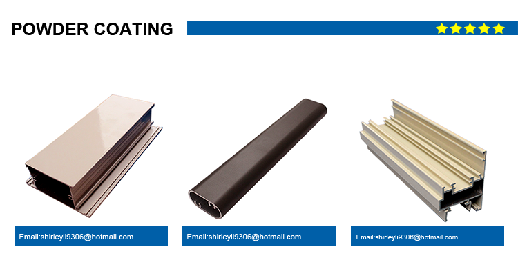 v-slot aluminum extrusions for industry fields