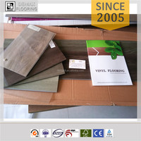 waterproof and fireproof vinyl plank pvc laminate wood flooring