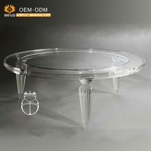 Interesting Luxus Klar Moderne Acryl Kleine Mbel Kunststoff Couchtisch With  Tisch Acryl