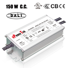 IP67 Waterproof constant current 150W DALI dimmable LED driver