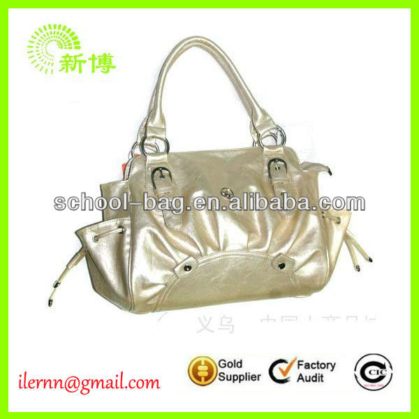2013 new design plastic coated tote bags