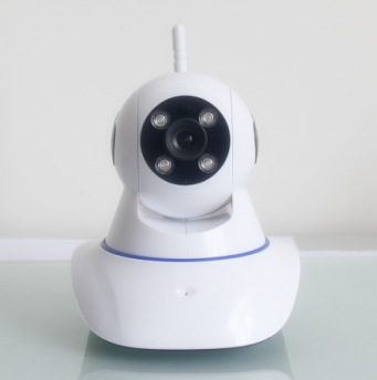 Wireless Linkage Alarm Pan/Tilt IP Camera Support Night Vision ,2-Way Audio,Motion Dectection,SD Card,Phone View