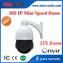 Kendom Outdoor Dome PTZ IP Camera Mini Speed Dome Camera 22X Zoom Security PTZ Surveillance CCTV Pan Tilt Camera Roator
