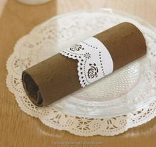 wholesale factory customized rose napkin ring for wedding table decoration