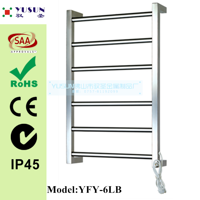 wall hung Heated Towel Rail Heated Towel Ladder