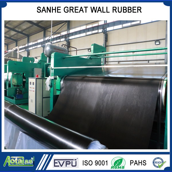 super Width 2-3m SBR NBR EPDM industrial smooth rubber gasket sheet roll