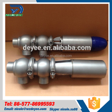SS304 Stainless Steel Sanitary Shut Off and Divert Double Seat Mixproof Valves