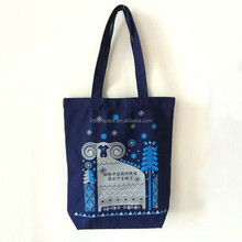 Wholesale Promotional Custom Eco Shopping Linen Tote Bag