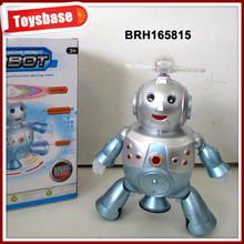 Light dancing toy chinese robot