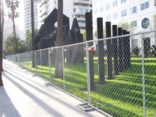 safety chain link fence/chain link mesh fencing for dogs