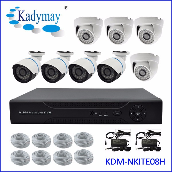 Security Camera CCTV DVR Ir Camera System Kits Made In China