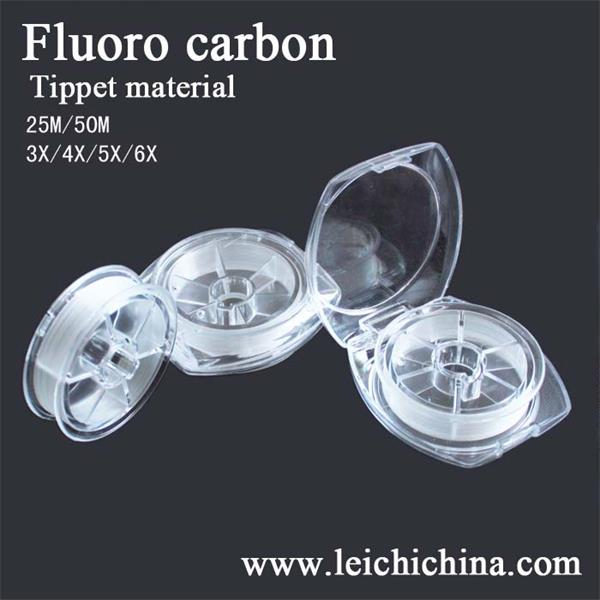 Top quality chinese fluoro carbon tipped material fly fishing line