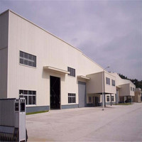 Design prefabricated steel structure building for workshop plant shed
