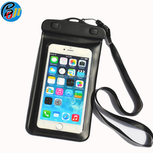 Custom Printed Logo Universal Water Proof phone Case PVC Mobile Phone Cases Waterproof Bag/Pouch