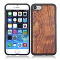 new products blank tpu wood case for iphone 8