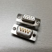 Solder type Machined Pin 4W4 D sub Male Connectors