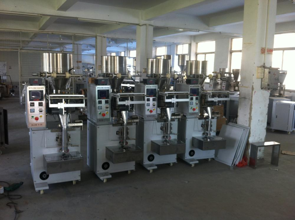 304SS Vertical Chemical Granule Packing Filling Machine