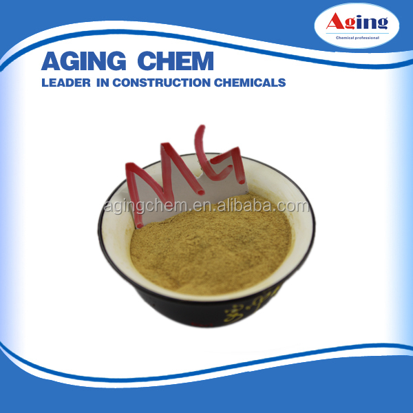 Accelerating Admixture(MG-1),Ca ligno hign pure Fertilizer Organic/ligninTextile Bonding Agents high quality