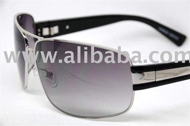 Ga 597 / S Metal Grey Lens Sunglasses