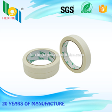 white strong adhesion crepe paper masking tape