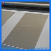 gr2 pure titanium platinum-coated alloy plate for nitric acid production