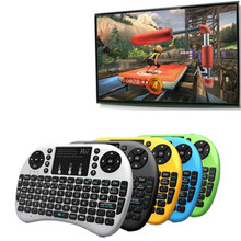 New Released Mini QWERTY keyboard i8 wireless keyboard for android tv box rii i8 keyboard bluetooth
