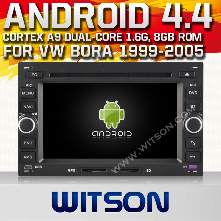 WITSON ANDROID 4.4 FOR VW PASSAT B5 RADIO DVD <strong>PLAYER</strong> WITH 1.6GHZ FREQUENCY DVR SUPPORT WIFI APE MUSIC RAM