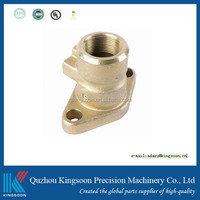 cnc machined part investment casting milling coated painted precision turned part
