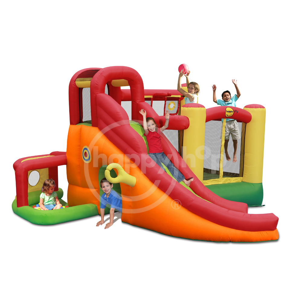 Happyhop 2017 New Design 9406N 11 in 1 Play Center,inflatable bouncer for kids and sales