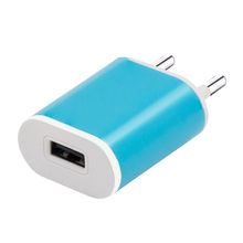 Shenzhen Factory Bulk Sale Small Portable 5V 1A EU Electric 1 USB Port Wall Charger